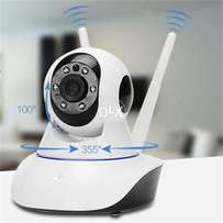 New Dual Antenna Smart HD Wifi Rotating Camera free cash on delivery