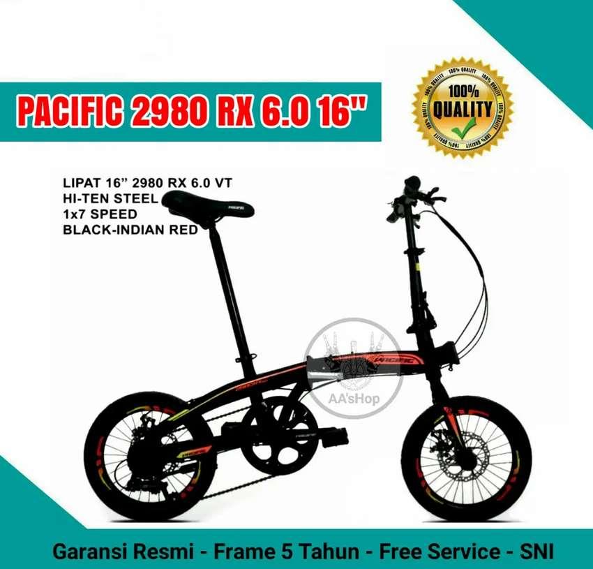 Kredit Sepeda Lipat Pacific Rx 2980 6 0 16 Cukup Ktp Sepeda Aksesoris 799517253
