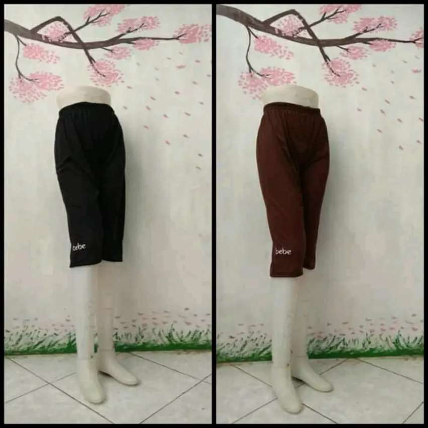 Celana Cewek Leging Bebe Bahan Kaos Full Motif Fashion Wanita 753762182