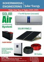 Complete Air Conditioning system With 1 Ton Air conditioner - SE Solar