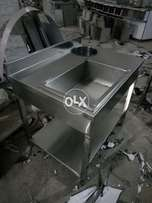 This is brading table for zinger,chicken pieces, etc/new pizza ovens