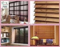 Wooden Blinds Available