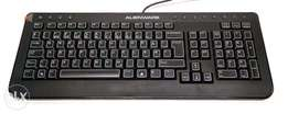Alienware Nordic Slim Black Multimedia USB Wired Keyboard SK-8165
