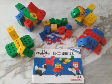 Preloved Plenty Play Blox Series Mainan Anak Block Brick