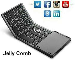 Jelly Comb fold-able keyboard