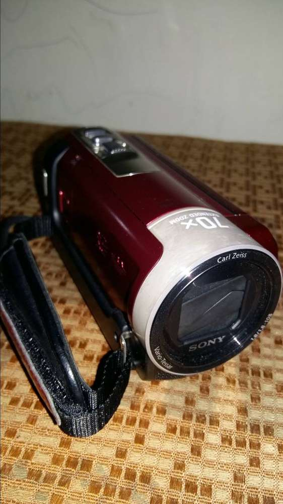 Sony PJ Handycam With Built-In Projector