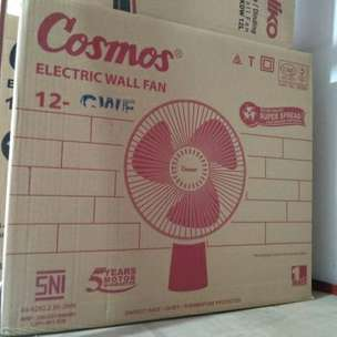 delivery kipas angin dinding cosmos 12cwf wall fan 12inch