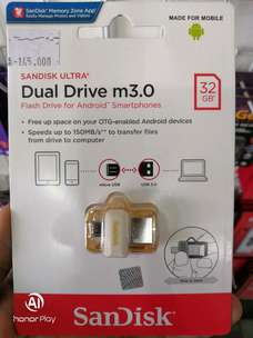 sandisk FLASHDISK OTG gold edition 32GB up to 150Mb/s