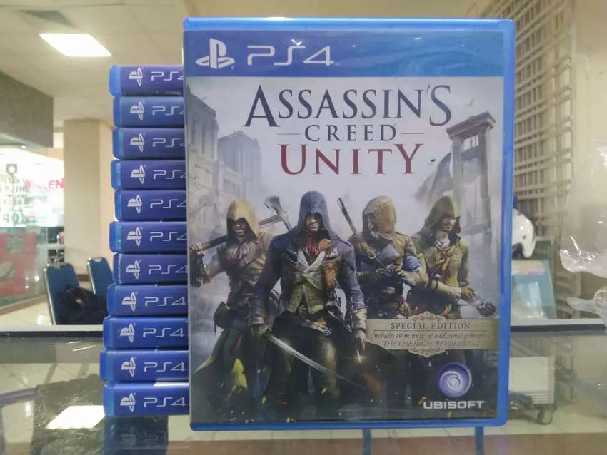 Kaset Ps4 Ps 4 Playstation 4 Original Assassins Creed Unity