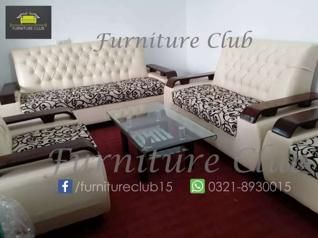 Marvelous Discount Offer Free Delivery 7 Seaters Sofa Set In Master Machost Co Dining Chair Design Ideas Machostcouk