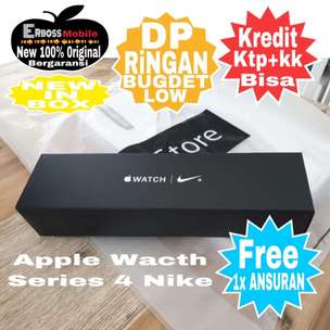 Cash Bisa Kredit Apple Watch Series 4 Nike+ GPS [44 mm] New Original
