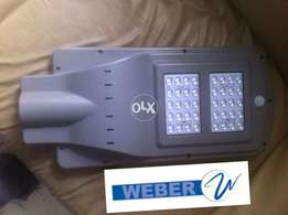 40w solar powered all in one led streef light