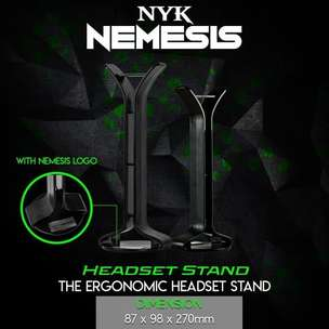 Headset Stand NYK | By Astikom