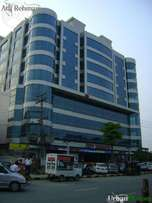 Jeff Heights Plaza office shops for rent Gulberg