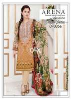 Lawn replica kurtie and suits khadar and lilan new arrival