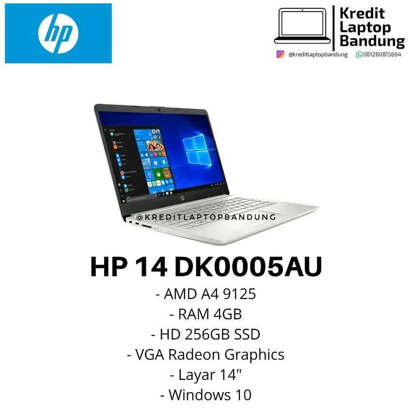 Laptop Hp Dk0005au Amd A4 256gb Ssd Bisa Kredit Komputer 797281632
