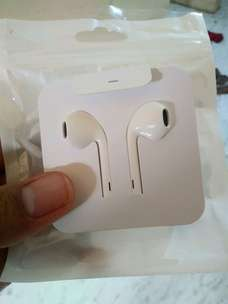 Headset iPhone Ori Kabel Lightning Include Adaptor