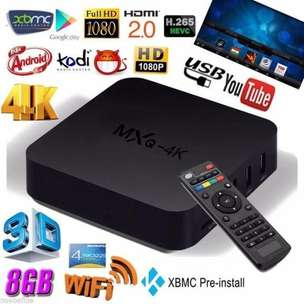 Android TVBOX MXQ-Pro 4K Smart TV Box GARANSI Media Player