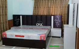 Excellent Quality Bed with dressing Khawaja's Fix price
