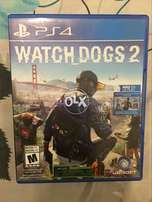 Watch Dogs 2 PS4 game mint condition