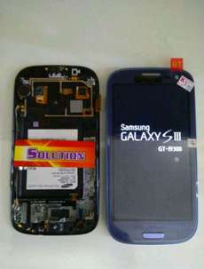 lcd+touchscreen Samsung S3 / I9300 + Frame #SOLUTION