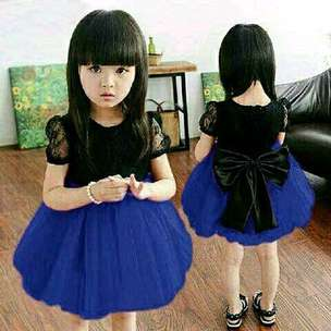 dress ribon kid