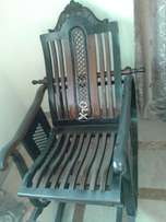 Rocking chair chinoti carving for sale