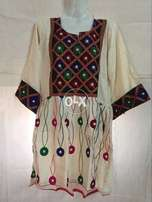 Ladies Embroidery Frocks Shirts Kurti in Cotton and Lawn Fancy Designs