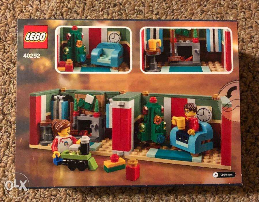 Brand New Limited Edition Lego 40292 Christmas Gift Box In Manila