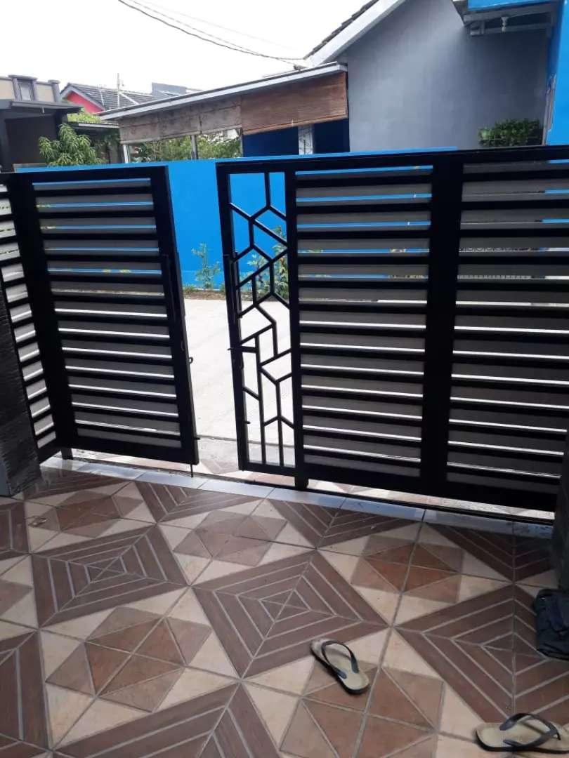 Disain Pagar Minimalis Antik 02 - Dekorasi Rumah - 800290339
