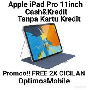 Bisa Credit/Chas Ktp/Npwp - iPad Pro 256GB/Wifii /Gray Ready