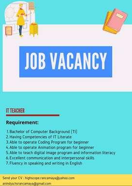 Lowongan Kerja Freelance It Terbatas Cari Kerja