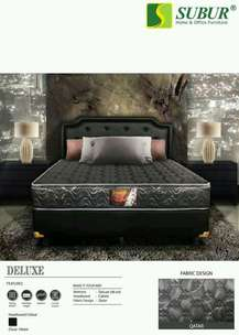 1 set springbed central deluxe 160x200