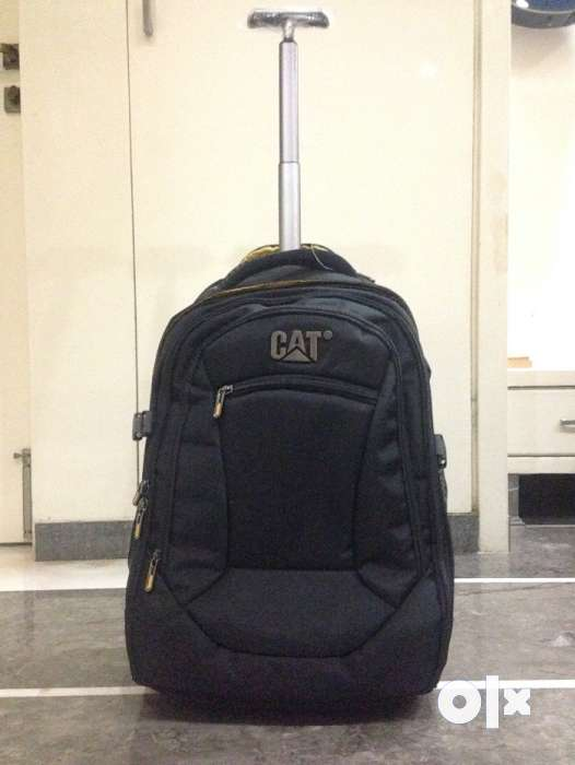 0404a55dd7 Brand New CAT - Branded Trolley Backpack Bag (Wheeled) - Men ...