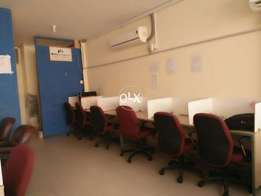 Furnished office space at cavalry ground, Lahore Cantt