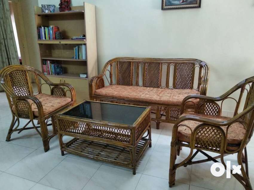 Incredible Cane Sofa Set In Very Good Condition Sofa Dining Lamtechconsult Wood Chair Design Ideas Lamtechconsultcom