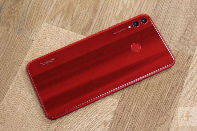 Huawei Honor 8x red clr full box 10 month wrnty - Mobile Phones