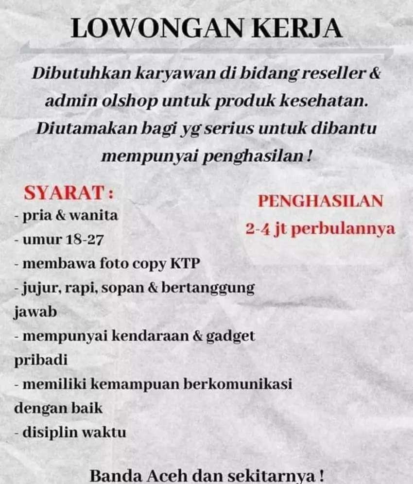 Loker Banda Aceh Olx