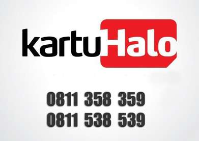 Kartu Halo 10 digit couple