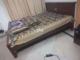 Double Bed Wooden