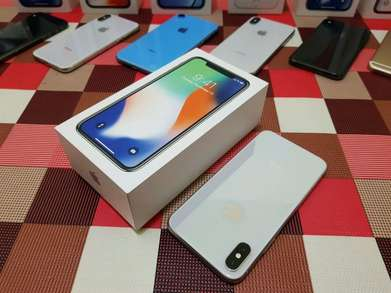 iphone x 64gb silver international aktif