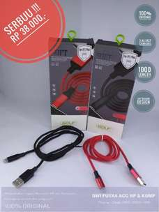 Kabel Data IPHONE GOLF GC-52 1M Original