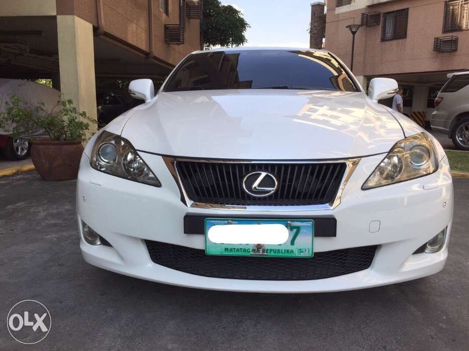 2009 lexus is300 at a1 condition not bmw benz 2010 2011 in quezon