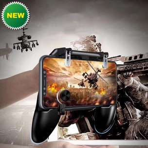 Hot Product > Gamepad + Triger PUBG + Analog Model Terbaru Makin GGWP