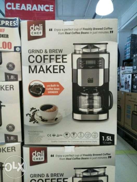 Deli Chef Coffee Maker With Grinder In Manila Metro Manila Ncr