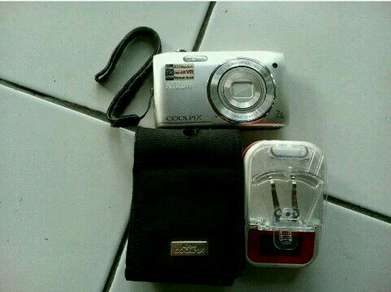 20 Megapixel Kamera Pocket Nikon S3500 Normal