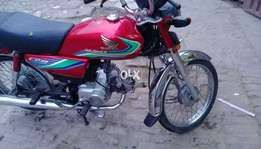 Honda 70 very good condition just 8000 km run only 666 number