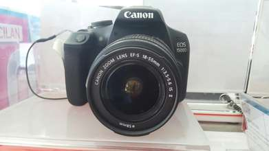 Kamera Canon EOS 1500D Kit EF-S 18-55mm F/3.5-5.6 IS II Kredit Cepat.