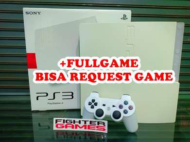 """LEBARAN BUKA"" PS3 Slim Hardisk White plus Bonus GAME"