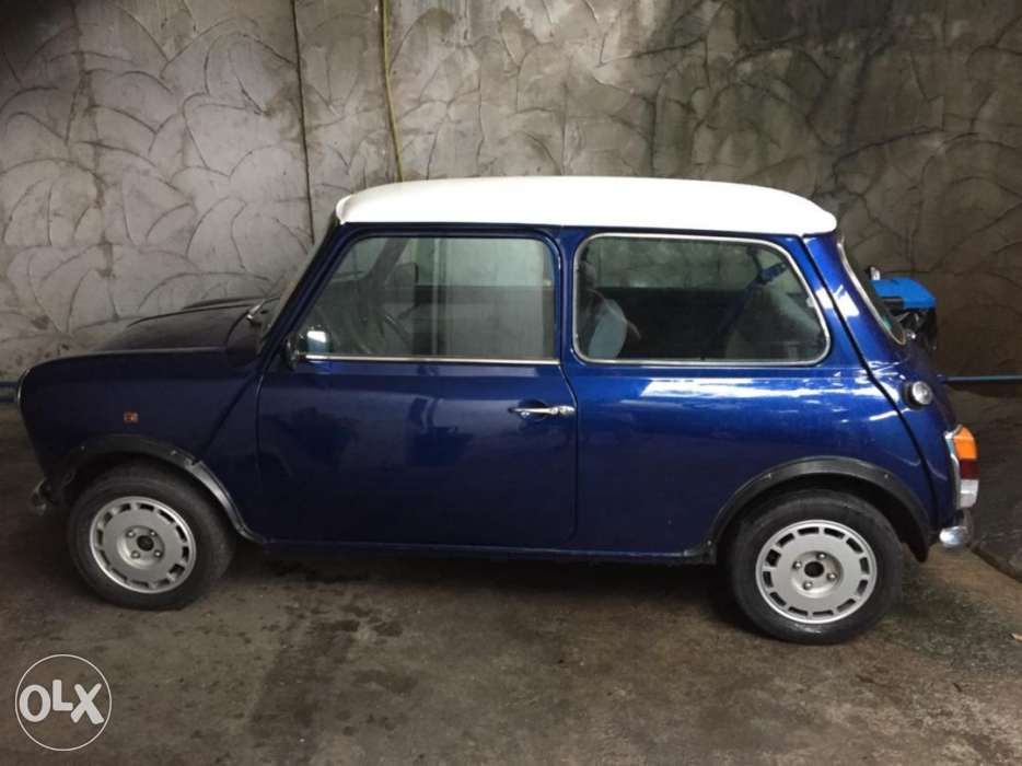1989 Rover Mini Cooper Mayfair Edition For Sale In Makati Metro